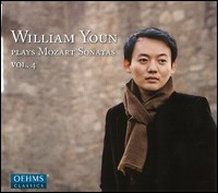 William Youn Plays Mozart Piano Sonatas, Vol. 4