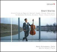 Short Stories - Encore Pieces. Mark Schumann, Martin Klett