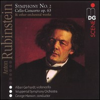 Anton Rubinstein. Alban Gerhardt, Violoncello, Wuppertal Symphony Orchestra, George Hanson, Conductor