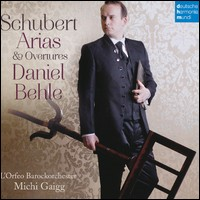 Schubert, Arias & Overtures. Daniel Behle, L'Orfeo Barockorchester, Michi Gaigg