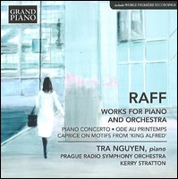 J.J. Raff, Works For Piano And Orchestra. Tra Nguyen, Prague Radio Symphony Orchestra, Kerry Stratton