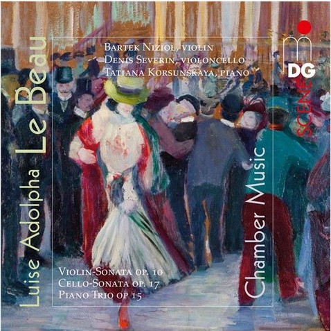 "CD-Cover ""Chamber Music"" - Quelle: MDG"