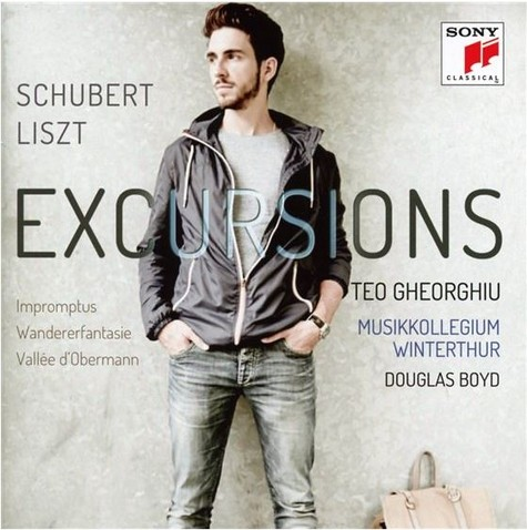 "CD-Cover ""Excursions"" - Quelle: Sony Classics"